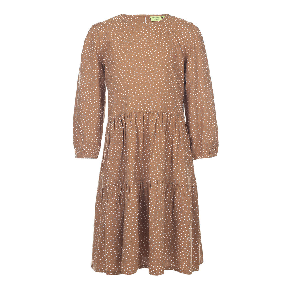 Kiddow Dress, kids caramel