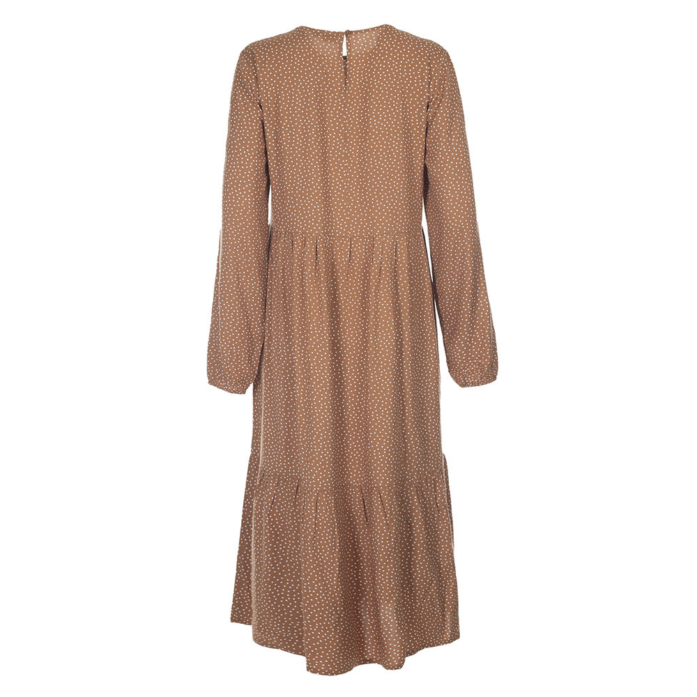 Kiddow Dress, adult caramel