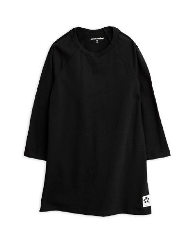 Basic Ls Dress black