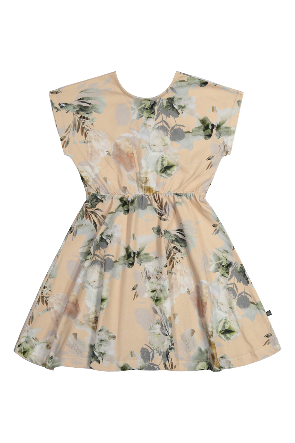 Breeze Dress, spring garden